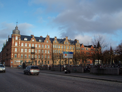 Lund in grey and blue