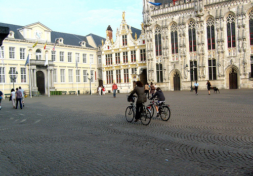 Burg Square Bruges/Brugge (Belgium)