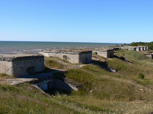 Liepaja fortress ruins
