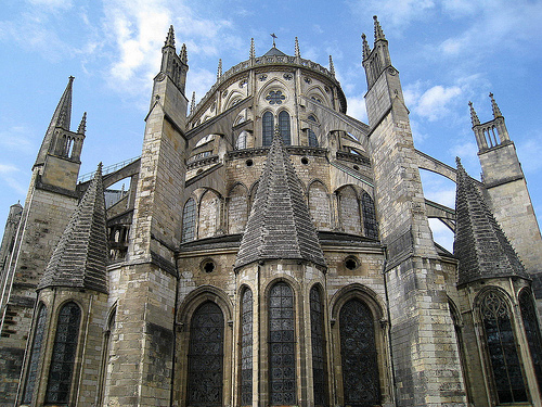 The Apse, Bourges Cathedral, France