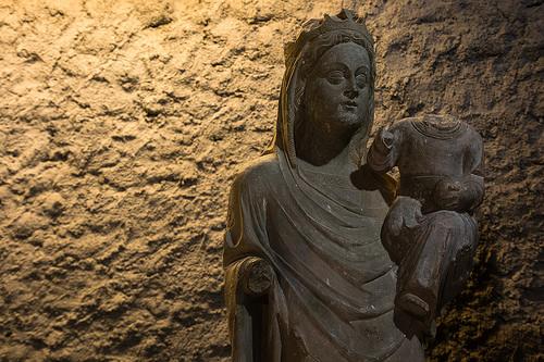 Mare de Déu amb el nen, de Sedó | Museu Diocesà d'Urgell